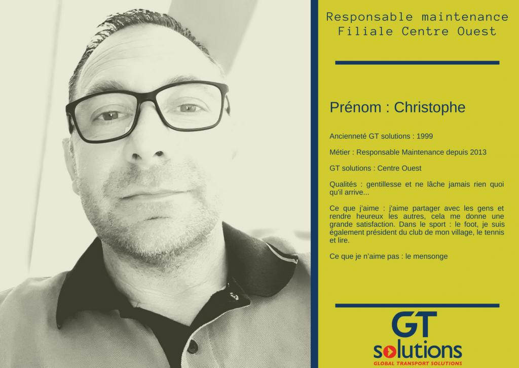 Christophe Responsable maintenance
